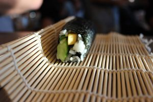 Sushi roll from class