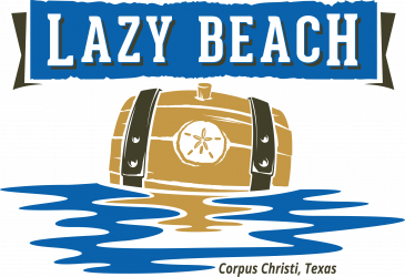Lazy Beach Brewing Logo - Corpus Christi, Texas
