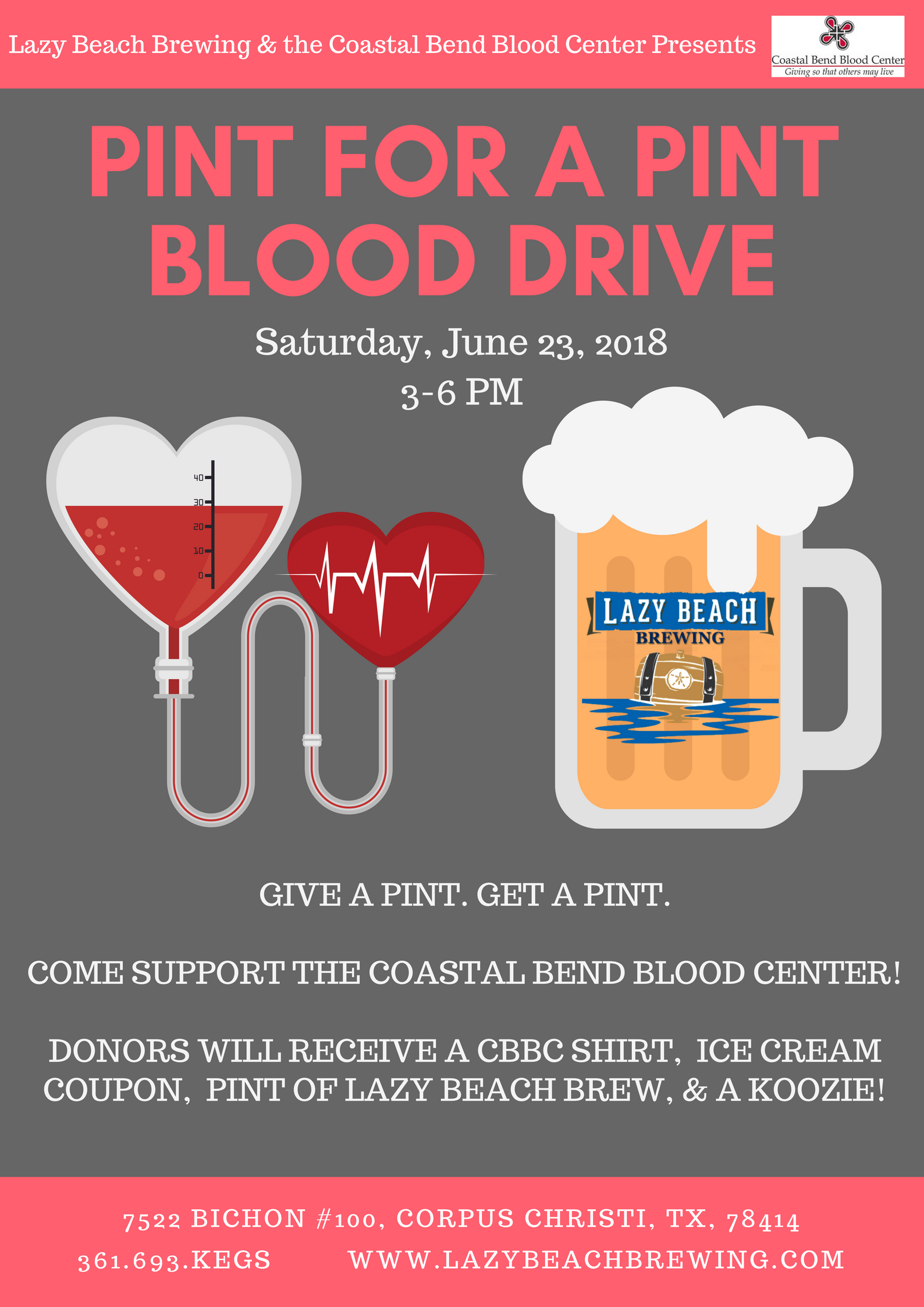 Blood Drive Today @ 3!