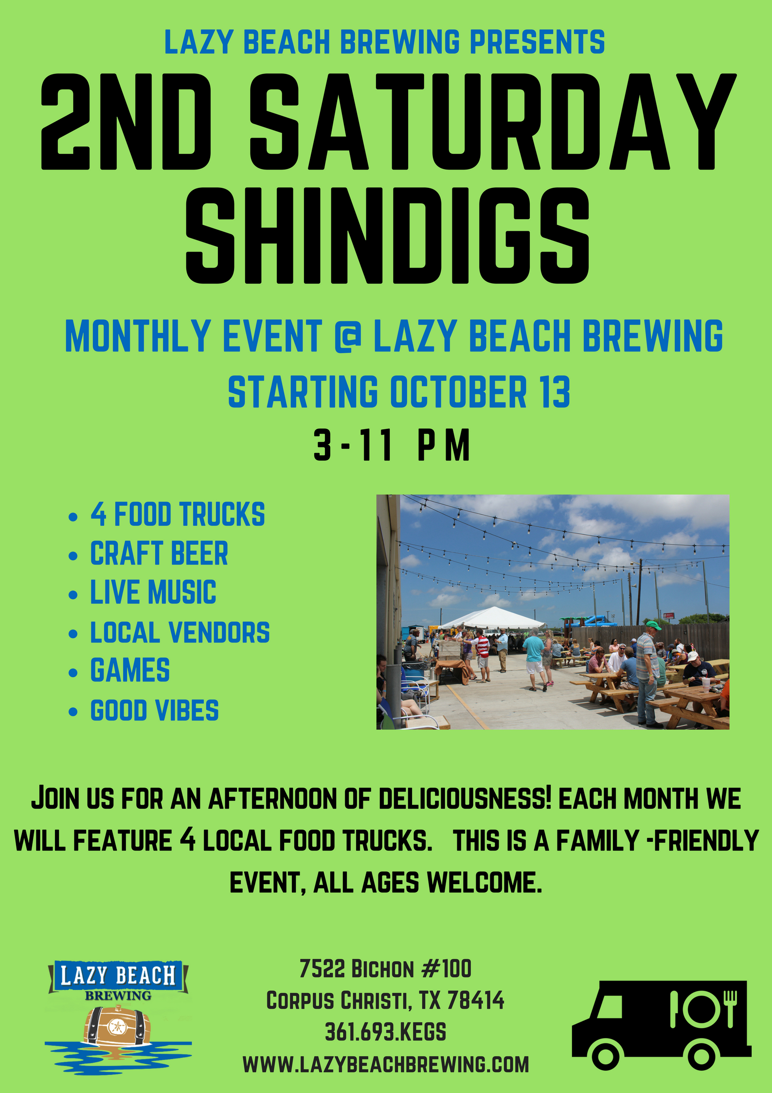 2nd Saturday Shindig!