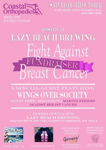 Fight Against Breast Cancer Fundraiser at Lazy Beach Brewing