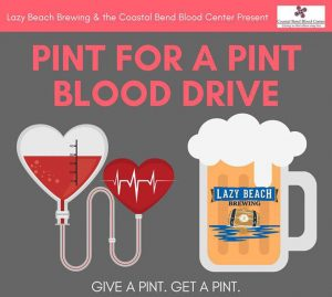 Pint for a Pint Blood Drive