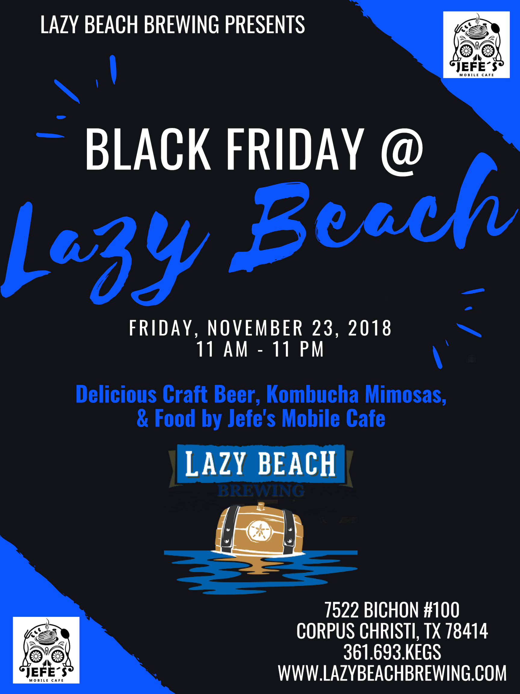 Black Friday @ Lazy Beach