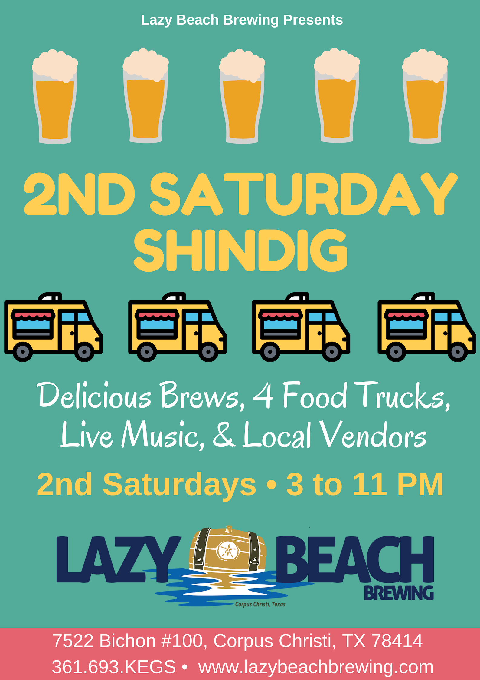 2nd Saturday Shindig Today!